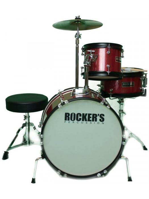 ROCKERS 3-16 RD JUNIOR DRUMSET set akustičnih bobnov
