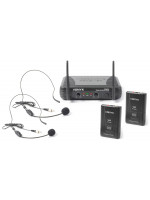 VONYX STWM712H VHF 2 Channel brezžični naglavni mikrofon
