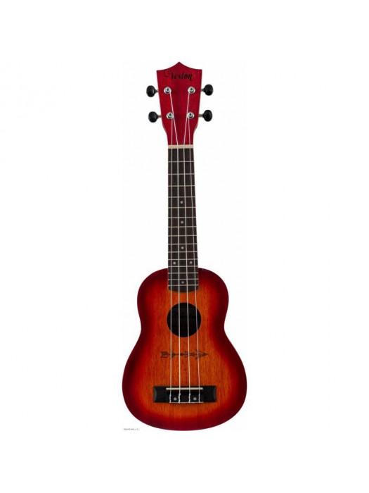 VESTON KUS100 Sunburst sopran ukulele