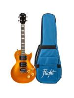 FLIGHT UKULELE Centurion GT tenor električne ukulele s torbo