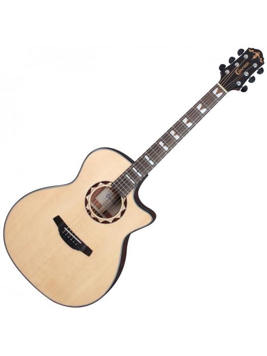 CRAFTER HG-620CE/N Nat elektroakustična kitara s torbo