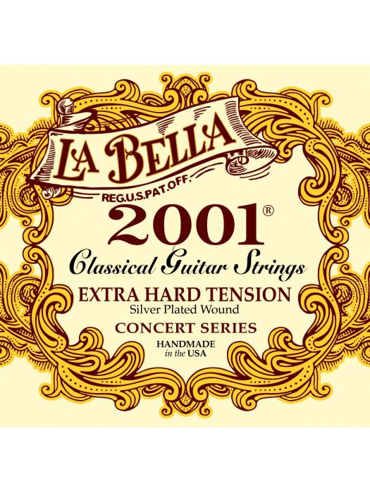LA BELLA 2001 X-HARD STRUNE KLASIČNA KITARA