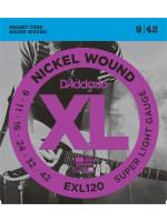 DADDARIO EXL120 STRUNE ZA ELEKTRIČNO KITARO 9-42