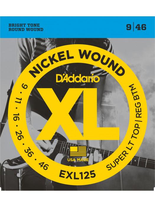 DADDARIO EXL125 STRUNE ZA ELEKTRIČNO KITARO 9-46