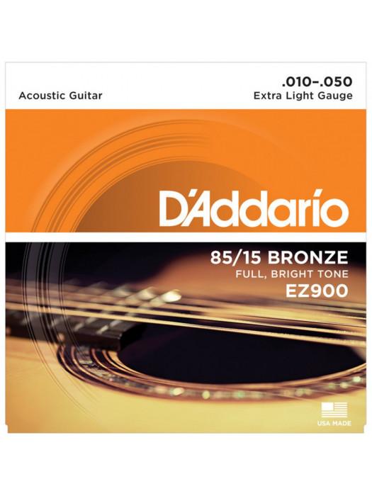 DADDARIO EZ900 85/15 BRONZE STRUNE ZA AKUSTIČNO KITARO 10-50
