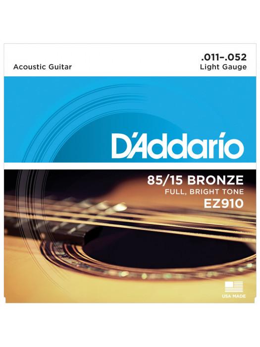 DADDARIO EZ910 STRUNE ZA AKUSTIČNO KITARO 011-052