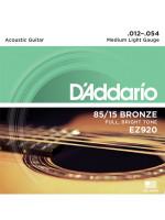 DADDARIO EZ920 STRUNE ZA AKUSTIČNO KITARO 012-054