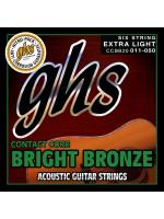 GHS CCBB20 BRIGHT BRONZE STRUNE ZA AKUSTIČNO KITARO 11-50