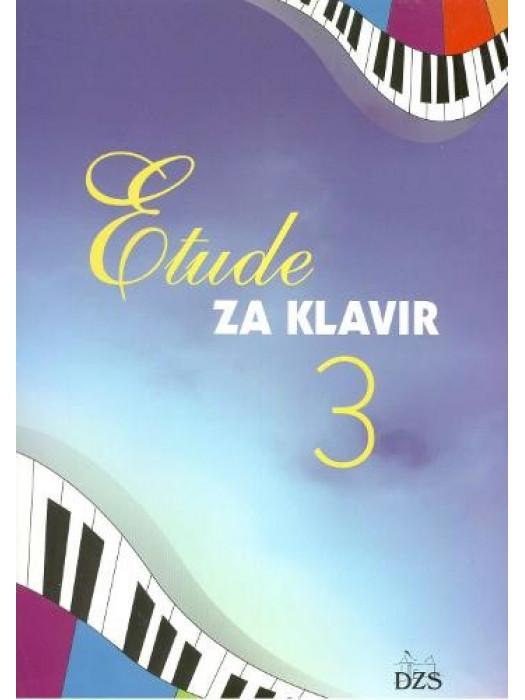 ETUDE ZA KLAVIR 3.NOTNA EDIC.