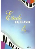 ETUDE ZA KLAVIR 4.NOTNA EDIC.