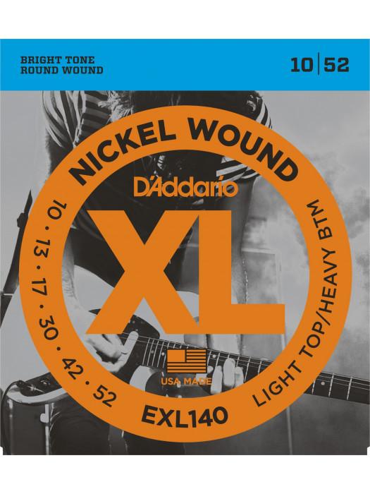 DADDARIO EXL140 STRUNE ZA ELEKTRIČNO KITARO 10-52