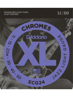 DADDARIO ECG24 STRUNE CHROMES 11-50