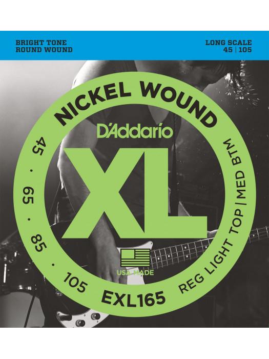DADDARIO EXL165 STRUNE 45-105 LONG SCALE