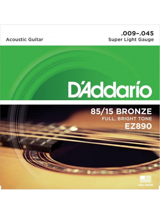 DADDARIO EZ890 AKUSTIČNE STRUNE 9-45