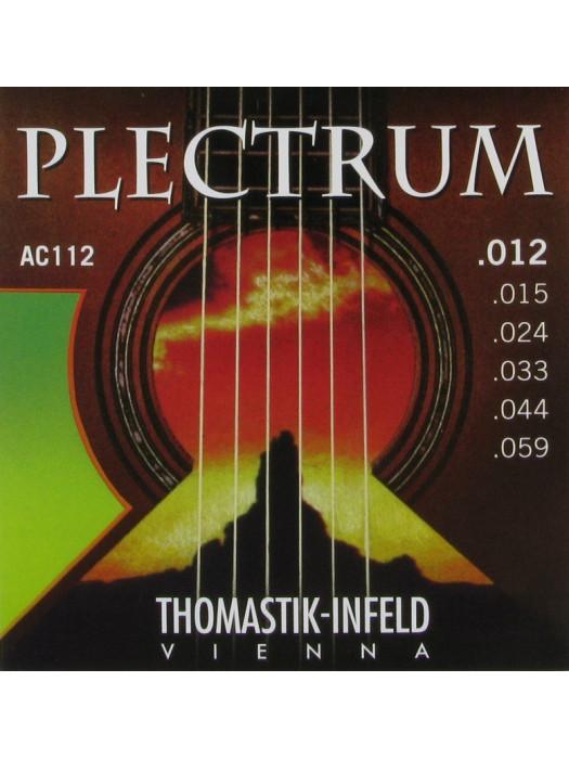 THOMASTIK AC112 PLECTRUM STRUNE AKUSTIČNA KITARA 12-59