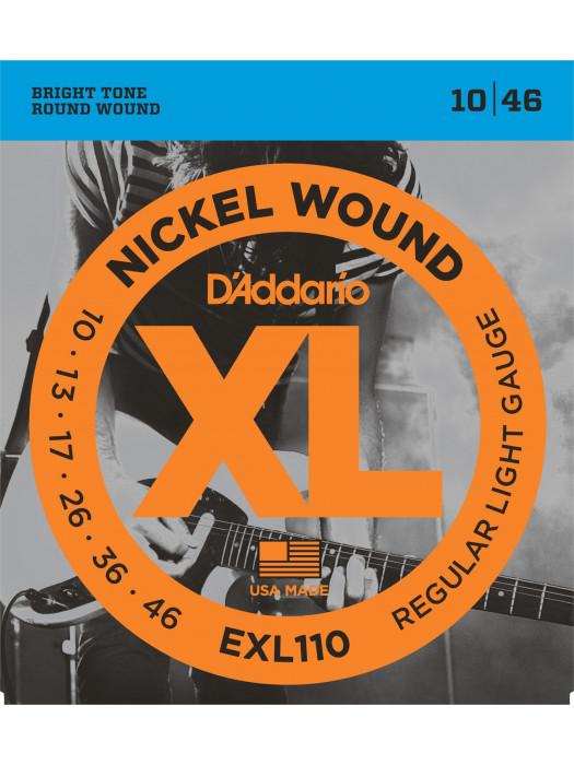 DADDARIO EXL110 STRUNE ZA ELEKTRIČNO KITARO 10-46