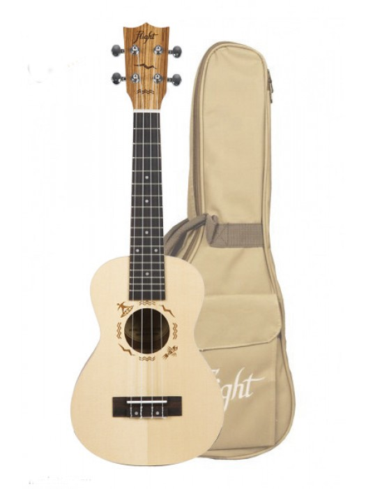 FLIGHT DUC525 SP/ZEB CONCERT UKULELE S TORBO