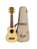 FLIGHT DUS320 SP/ZEB SOPRANO UKULELE S TORBO