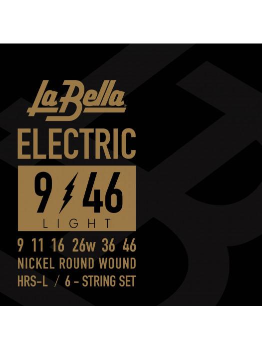LA BELLA HRS L HARD ROCKIN STEEL STRUNE ZA ELEKTRIČNO KITARO 9-46