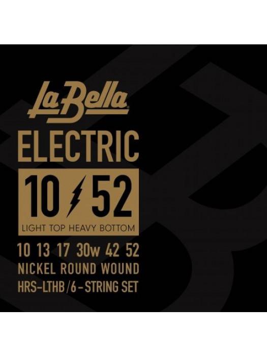 LA BELLA HRS LTHB HARD ROCKIN STEEL STRUNE ZA ELEKTRIČNO KITARO 10-52