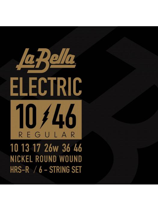 LA BELLA HRS R HARD ROCKIN STEEL STRUNE ZA ELEKTRIČNO KITARO 10-46