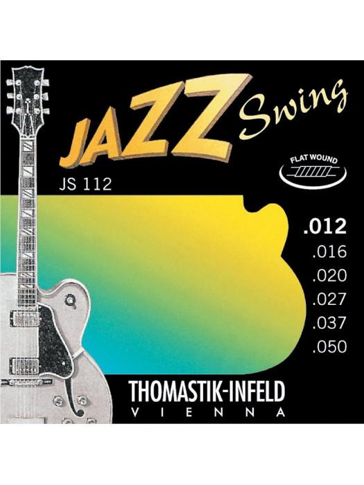 THOMASTIK JS112 012 brušene strune za električno kitaro