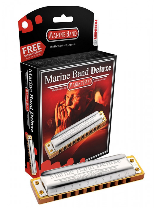 HOHNER ORGLICE MARINE BAND DELUXE Bb