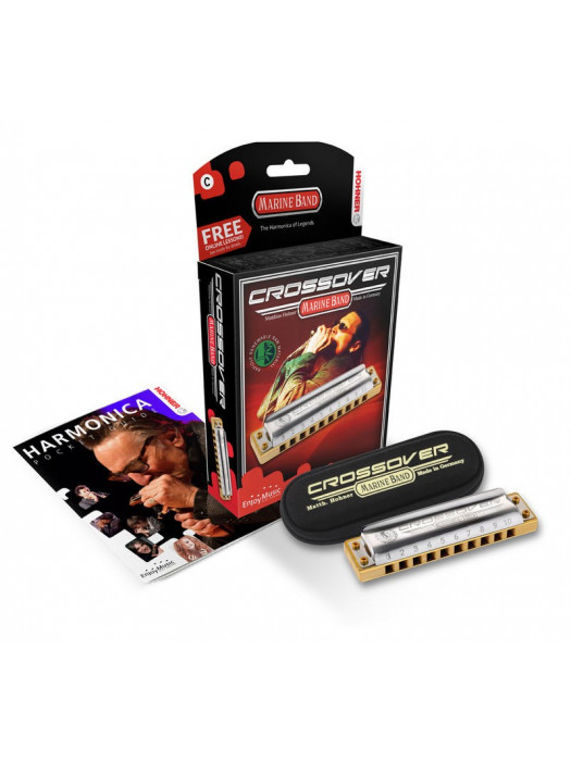 HOHNER MARINE BAND CROSSOVER Bb ORGLICE