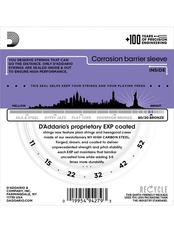 DADDARIO EXP13 STRUNE 80/20 11-52