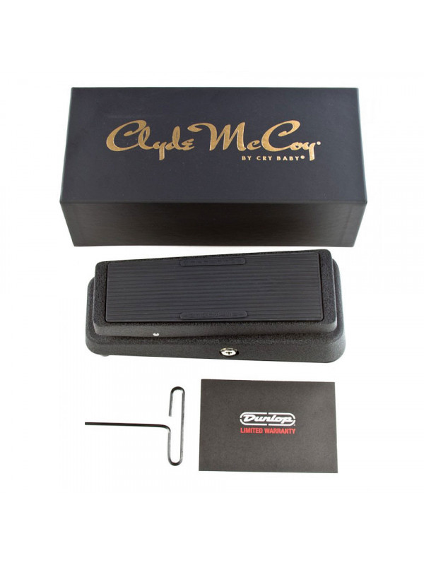 DUNLOP CM95 CLYDE MCCOY CRY BABY PEDAL