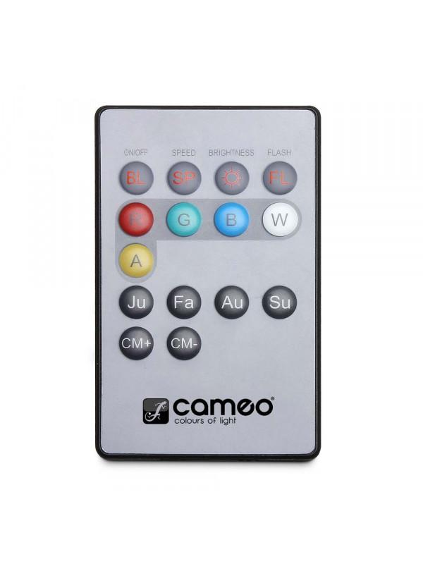 CAMEO CLPFLAT1RGB10IRSET1 FLAT PAR CAN RGB 10 IR KOMPLET 4x RGB LED LUČI