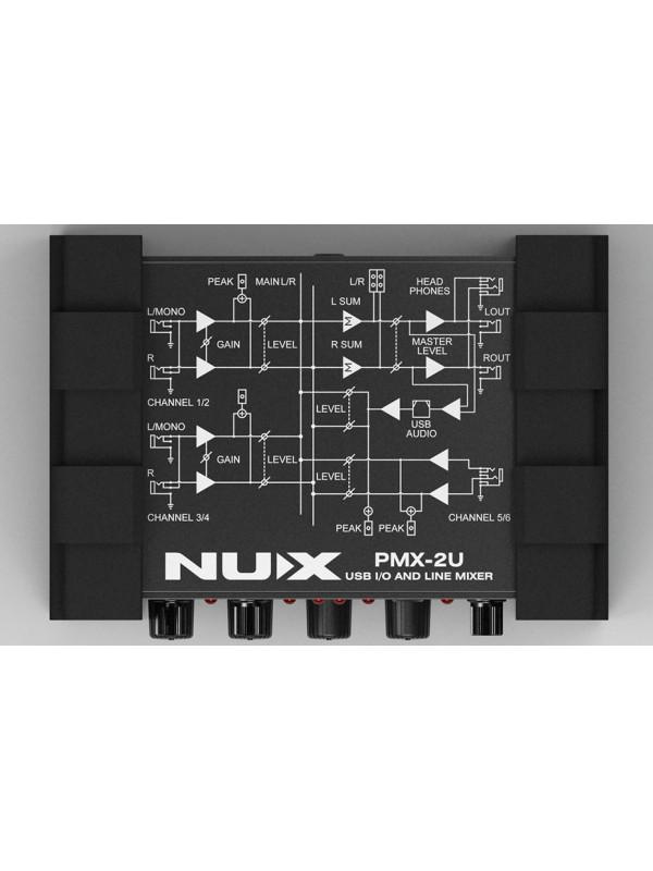 NUX PMX-2U LINIJSKI MIKSER USB