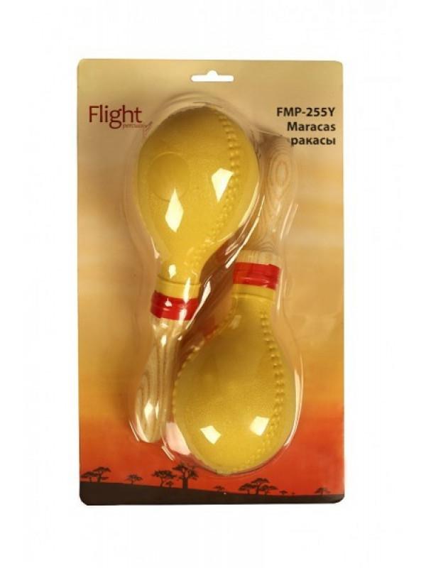FLIGHT FMP-255Y MARACAS PLASIC YELLOW