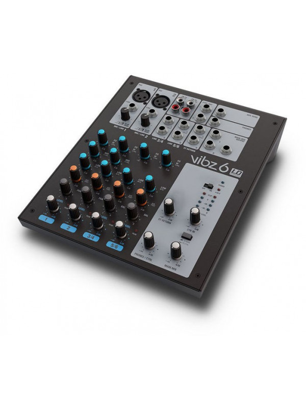 LD SYSTEMS VIBZ 6 - MIXER 6-CHANNEL WITH DSP