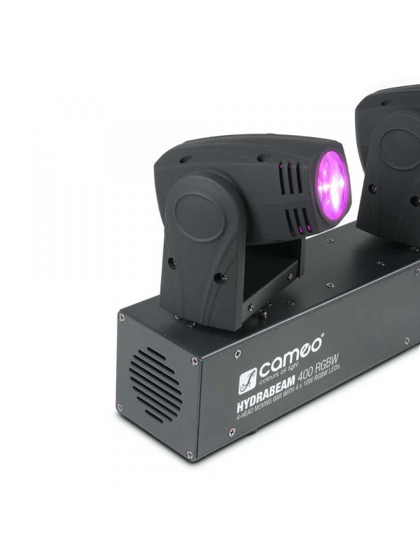 CAMEO CLHB400RGBW HYDRABEAM 400 RGBW SET 4 ULTRA-FAST QUAD LED