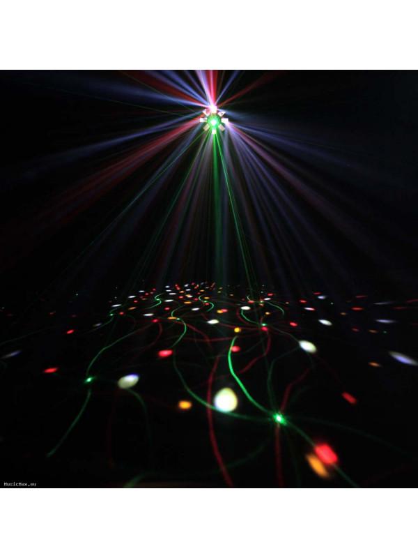 CAMEO CLSTORM STORM 3 IN 1 LIGHTING EFFECT DERBY, STROBE IN GRATING LASER
