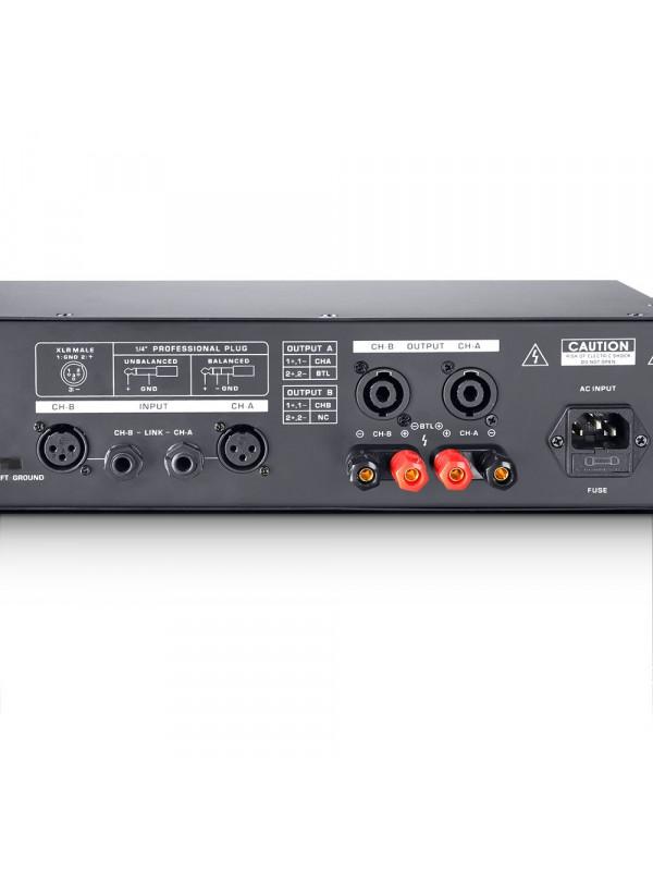 LD SYSTEMS DJ 300 PA KONČNA STOPNJA 2 X 150 W 4 OHMS