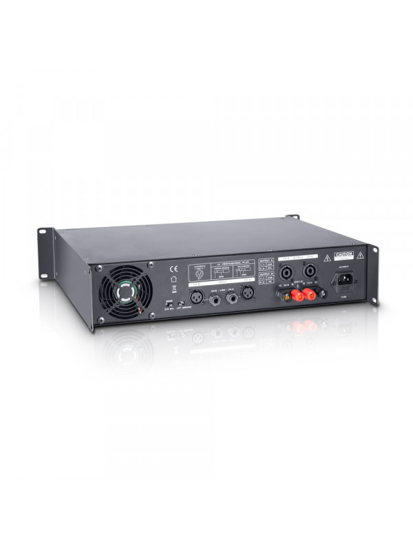 LD SYSTEMS DJ 800 PA POWER AMPLIFIER 2 X 400 W 4 OHMS