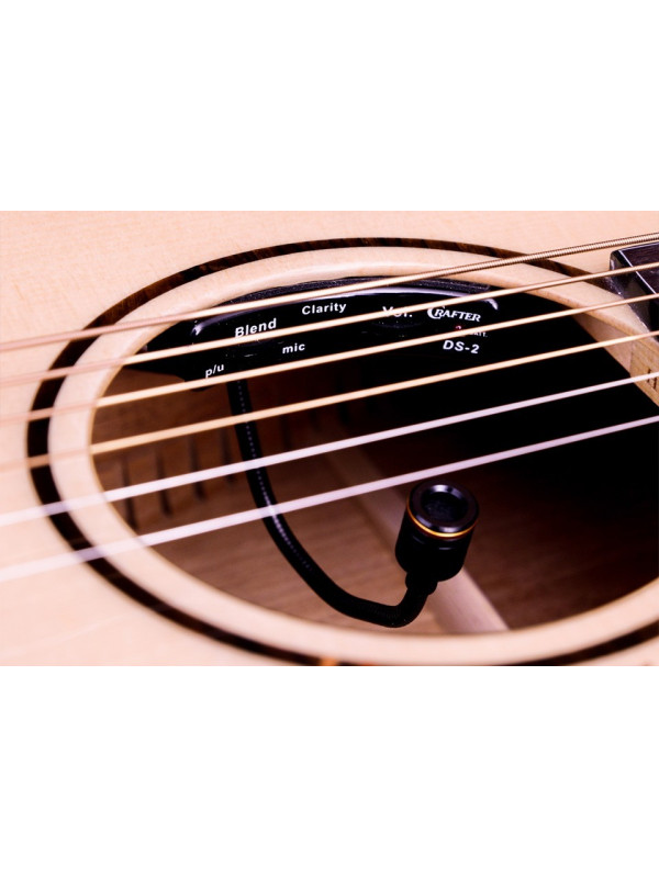CRAFTER DS-2 SOUNDHOLE MONT PICKUP PREAMP