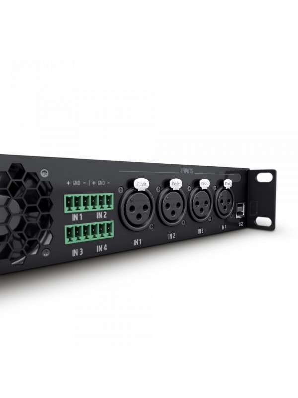 LD SYSTEMS CURV 500 IAMP - 4 CHANNEL INSTALLATION AMP
