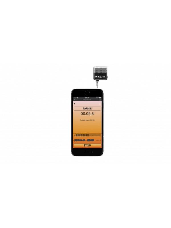 IK MULTIMEDIA iRIG MIC CAST MIKROFON ZA iPHONE/iPOD/iPAD