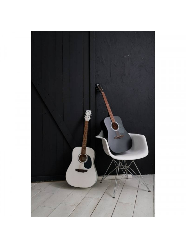 JET JD-255 ACOUSTIC GUITAR BLK