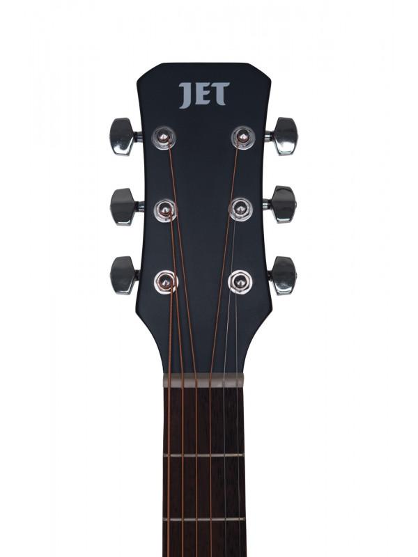 JET JDE-255 ELECTRO ACOUSTIC GUITAR NAT