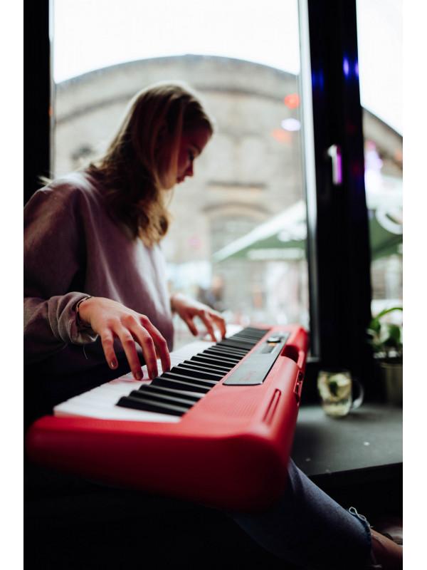 CASIO CT-S200 RD + ADAPTER elektronska klaviatura
