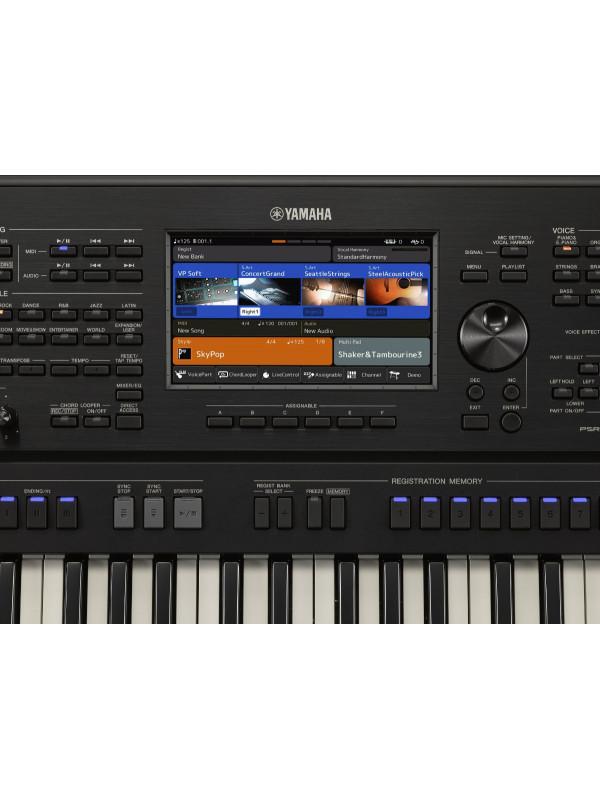 YAMAHA PSR-SX900 KLAVIATURA