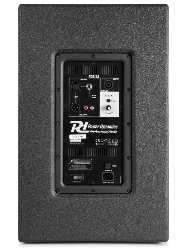 POWER DYNAMICS PD812A 12˝ AKTIVNI ARRAY SISTEM 800W
