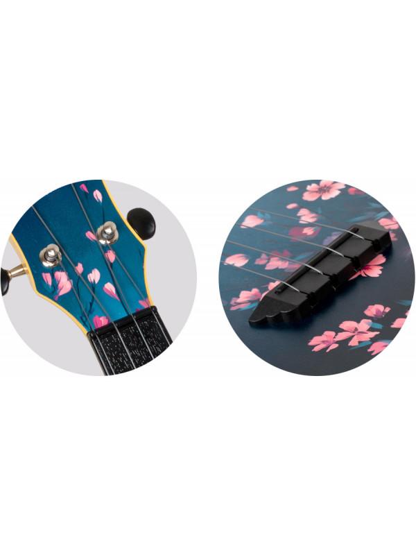 FLIGHT TUSL32 Sakura potovalne ukulele s torbo