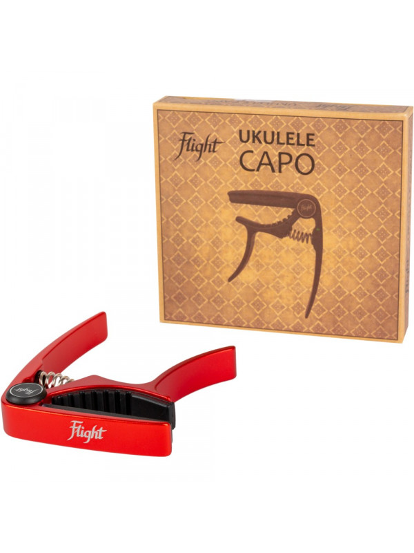 FLIGHT FC-RD Red kapodaster za ukuelele