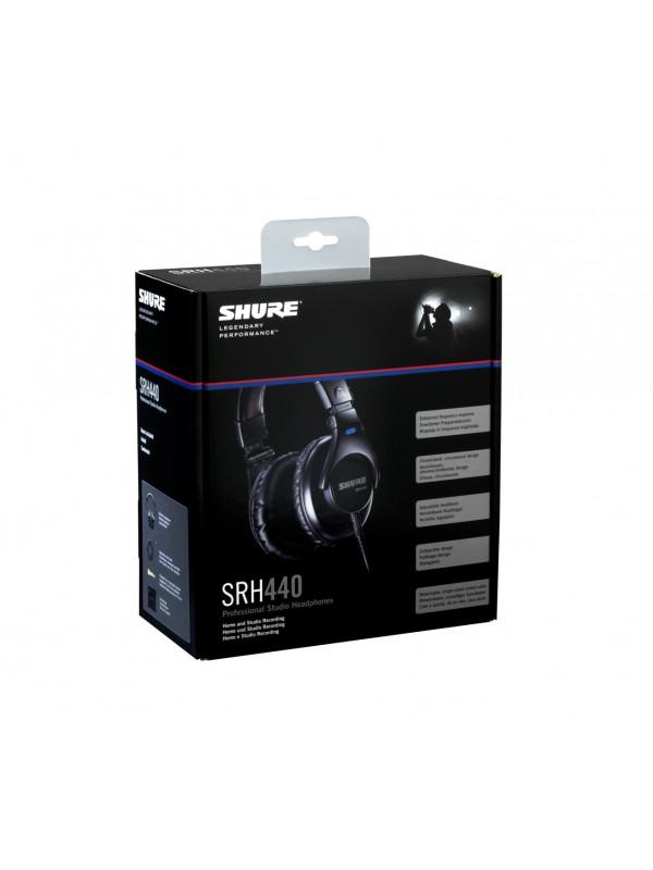 SHURE SRH440 SLUŠALKE
