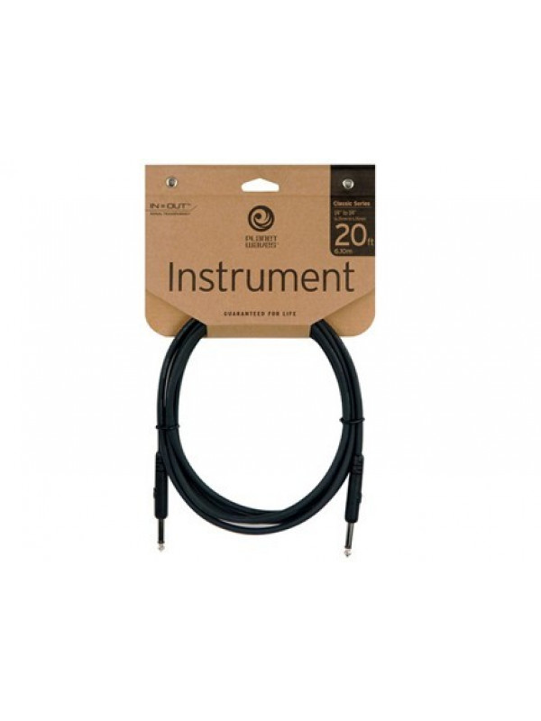 PLANET WAVES PW-CGT-20 KABEL INSTRUMENT 6M